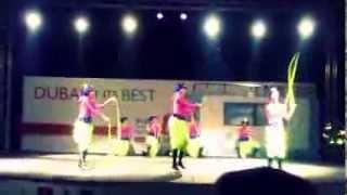 Dubai shopping festival Moscow dance, Vodolei, DSF, 2013 /Цирковой коллектив Водолеи
