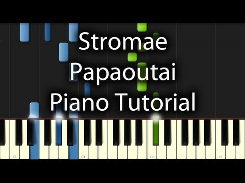 Comment jouer Papaoutai de Stromae au piano