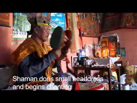 Healing Ceremony with a Tibetan Shaman in Pokhara, Nepal