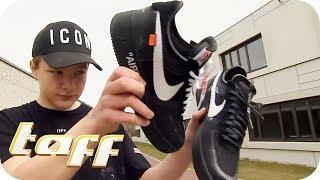Bis zu 25.000€ für Sneaker - Jugend im Luxus-Wahnsinn! Shopping der Hypebeast!   taff   ProSieben