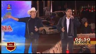 """lucas & Matheus  """" Porque homem não chora""""  TVI 04.12.16"""