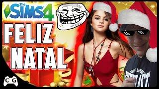 NATAL Com a Selena Gomez ( ͡° ͜ʖ ͡°) Não Podia Faltar Aquela Zoeira (FELIZ NATAL)
