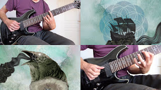 Mestis - Olvidala - 8 string guitar cover