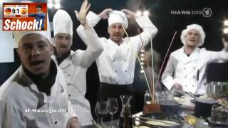 10. Blumentopf Raportage vor Spanien Halbfinale (WM 2010)