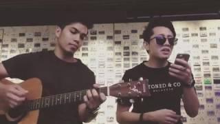 TERGANTUNG SEPI - syed shamim | cover acoustic version | terbaikkk