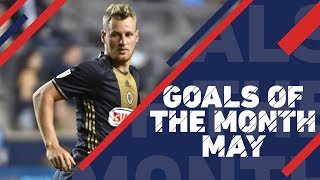 Top 10 goals in May