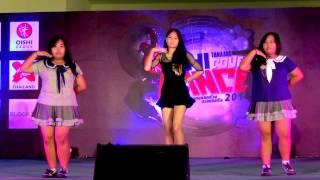 140802 Fanatic K cover Orange Caramel - Catallena @OISHI Thailand Cover Dance 2014 (Audition)