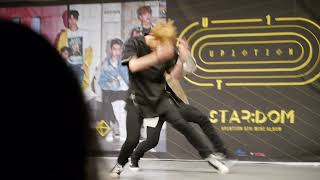 170812【Runner 시작해 クンfocus】UP10TION 업텐션 【STAR;DOM】Release Event@山野ホール 1部 #쿤