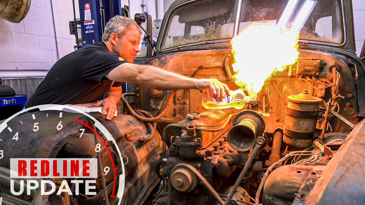 How we made this decrepit Chevrolet 3600 pickup throw fireworks