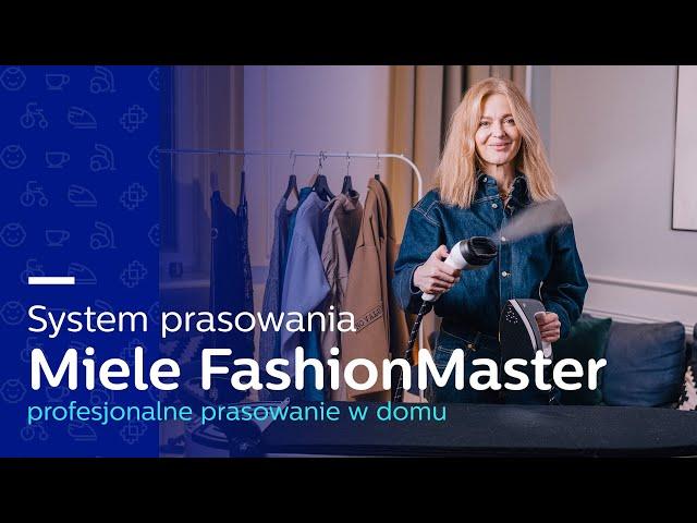 System prasowania Miele FashionMaster PL   Deska do prasowania Miele B3847 i B3312   Czy warto? TEST