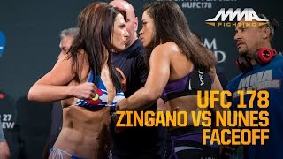 UFC 178 Weigh-Ins: Cat Zingano vs. Amanda Nunes
