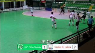 Vila Verde 4-2 União de Leiria (11ª jornada da 3ª Nacional - Série C) - 2011/2012