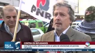 PNR - CONTRA CHEGADA DE REFUGIADOS A PORTUGAL