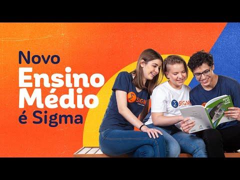 NOVO ENSINO MÉDIO É SIGMA!