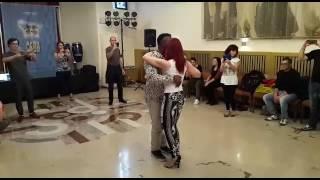 Bobby Simon kizomba demo at Afro latin village Slovenia