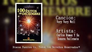 Very Very Well - Carlos Roman y Su Sonora Vallenata / Discos Fuentes