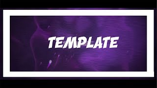 [Template 2] Purple Intro Template [B3D+AE] F2U Png's