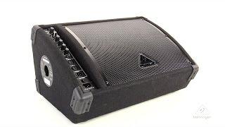EUROLIVE F1220D Bi-Amped 250-Watt Monitor Speaker System