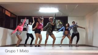 CLASE DE REGGAETON EN SANZAY DANCE STUDIO