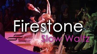 SLOW WALTZ | Dj Ice - Firestone (orig. Kygo) (29 BPM)