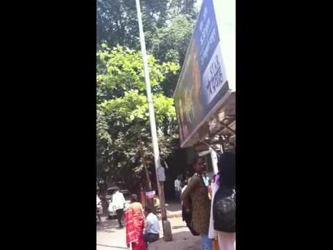 A walk down a random Mumbai street