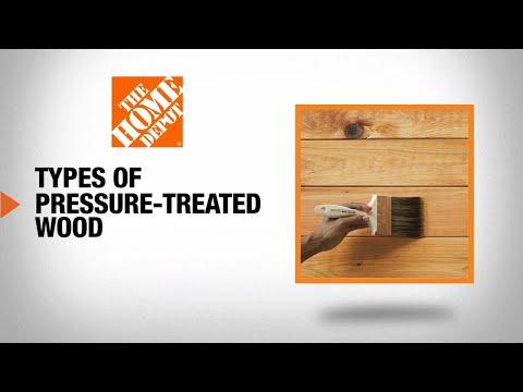 Types of Pressure-Treated Wood