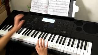 電子琴 雨的旋律