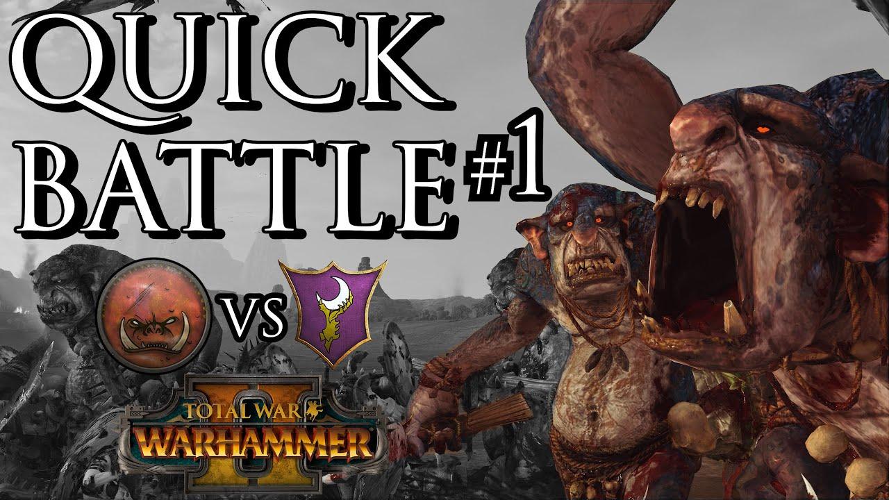 Zerkovich - Greenskin vs Dark Elves! - Quick Battle #1