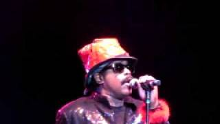 Larry Blackmon of Cameo performing live at the 1st Annual Southern Funk Fest
