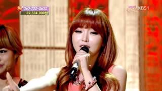 [130330] Hong Jin Young (홍진영) - Boogie Man (부기맨) @ KBS Love Request
