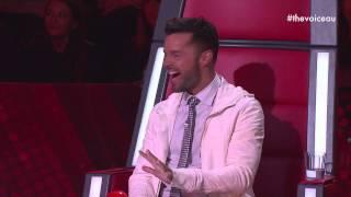 Ricky Feels It | The Voice Australia 2014