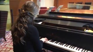 """Theme from """"Somewhere in Time"""" - Piano solo by Kelsey Lee Keogh"""