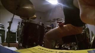 David Ekevärn | Naglfar - Blades | drum cover