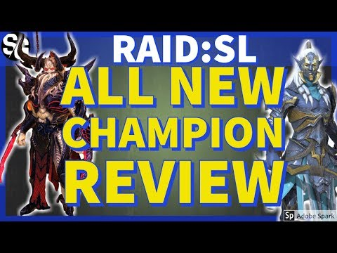 [RAID SHADOW LEGENDS] NEW CHAMPS, LETS REVIEW THEM!