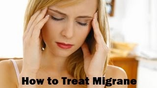 Cure Migraine with Home Remedies