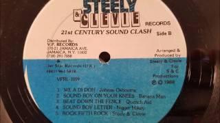 Banana Man - Sound Boy On Your Knees - Steelie and Cleavie LP - 1989
