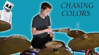 Chasing Colors by Marshmellow Drum Cover