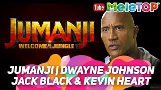 [Trailer] Jumanji   Dwayne Johnson, Jack Black & Kevin Heart