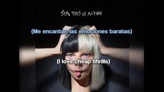 Sia - Cheap Thrills [Lyrics + Subtítulos en español]
