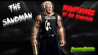 """WWE: The Sandman Theme Song """"Nightmare"""" Arena Effects (HQ)"""