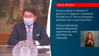 CALABRIA DICHIARATA ZONA ROSSA
