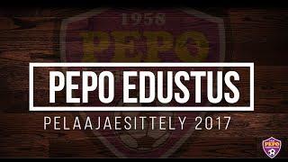 PEPO edustus pelaajaesittely 2017