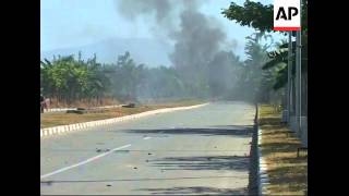 Street violence greets new East Timor leader
