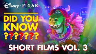 Pixar Short Films Collection Vol. 3   Pixar Did You Know by Disney•Pixar