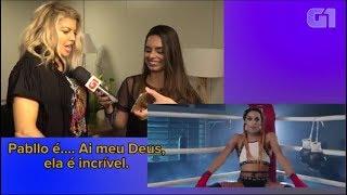 Fergie reagindo a Pabllo Vittar, Anitta e mais