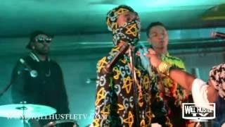 Rae Sremmurd - Black Beatles ft. Gucci Mane | BTS | Will Hustle TV Exclusive