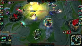 The Sion/ASol ult combo that won the game - Ranked LoL