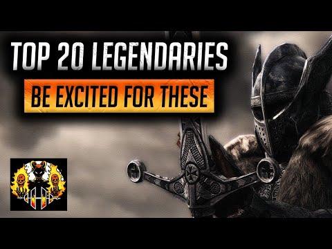 RAID SHADOW LEGENDS | Top 20 Legendaries