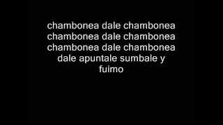 Nicky Jam -  Chambonea ( Con letra )