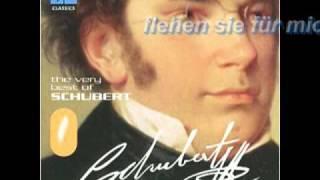 Schubert - Standchen (Baritone & Piano, with lyrics)